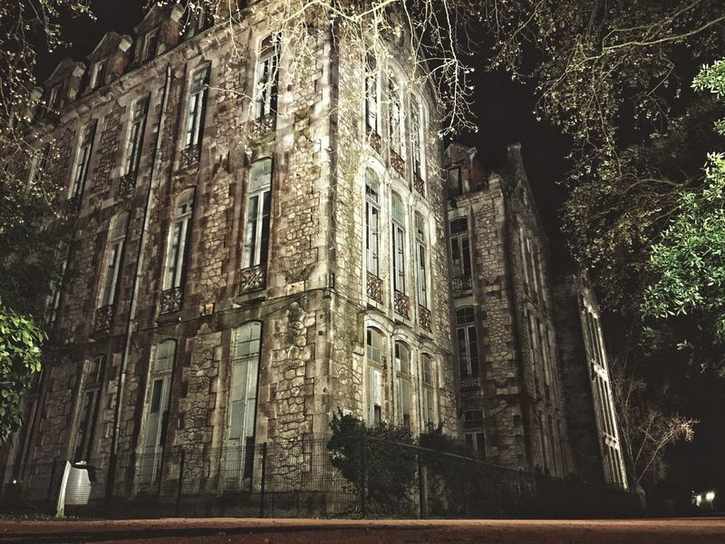 """""""Old""""🏚📸 Architecture Building Exterior Built Structure Low Angle View No People Outdoors Nightphotography EyeEm Hobby Filters City Caldas Da Rainha IPhone7Plus IPhone Moments IPhoneography Portugal Photodaily Iphonephotography"""