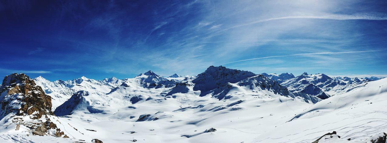 Grimentz Val D'Anniviers Valais Winter Mountain Switzerland Alps Landscape Shades Of Winter