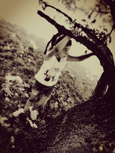 #tree #littlegirl #treeclaiming