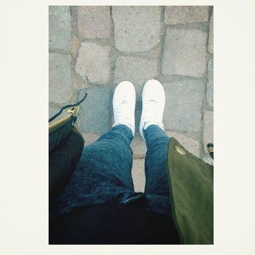 Nikes on my feet ?