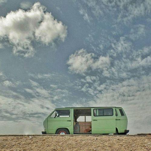 Campervan Vwcampervan T25 Vanagon I love my minty van!
