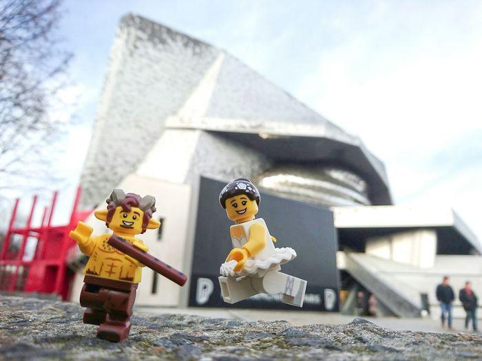 Pan en Concert au Philharmonie de Paris Syrinx Flute Balerina LEGO Lego Minifigures Legophotography Minifigures Toy Photography Music XperiaZ5 Debussy