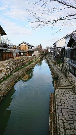 【Shiga,Japan】omihachiman city 近江八幡 Biwa Lake Tourism Japan Beautiful January Shiga Ōmihachiman Water Reflection Sky