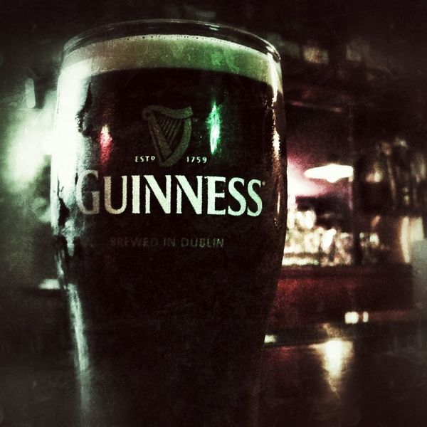 Drinking Saturday Night Guinness Belly Up