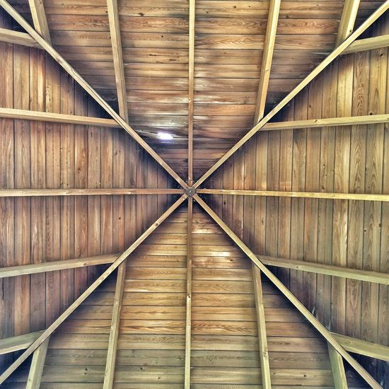 Pattern Pieces Architecture Building Exterior Built Structure Day Design Diminishing Perspective Geometry Hole House Leak No People Obsolete Order Protection Rail Transportation Railroad Track Safety Symmetry The Way Forward Vanishing Point Vertical Symmetry Wood Wood - Material Wooden