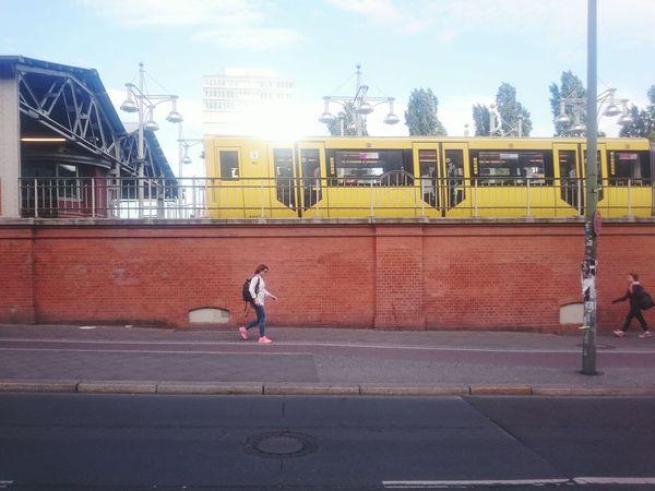 Streetphotography People People Watching Colors Berlin My Fuckin Berlin Yellow Metro