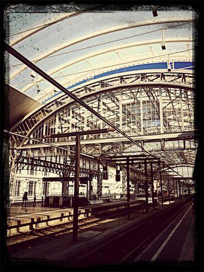 Architecture Public Transportation Steel