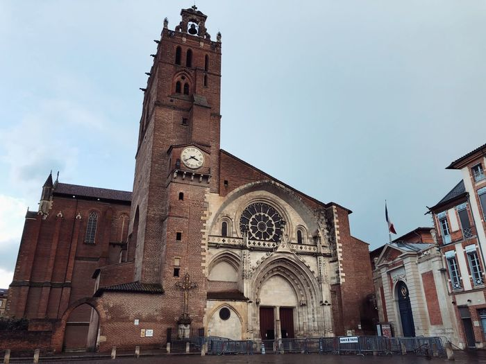 Cathedral Saint-Etienne Toulouse Toulouse Cathedral Saint-etienne Architecture Religion Built Structure Travel Destinations Spirituality Building Exterior History
