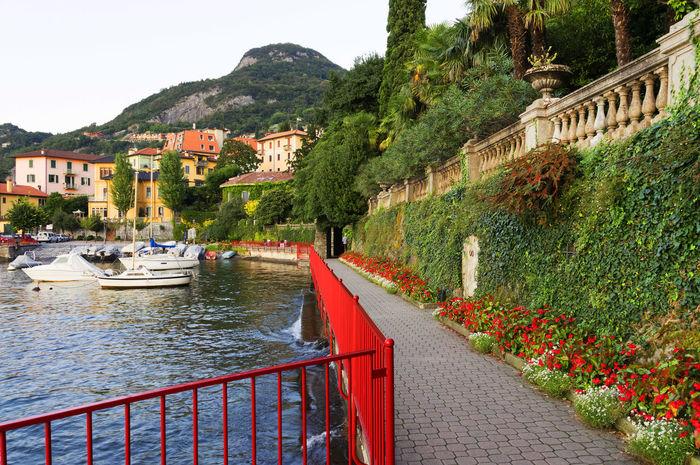 Architecture Bellagio Como Como Lake Europe Ferry Holiday Italy Landmark Landscape Luxury Resort Ship Travel Traveling Vacation Varenna