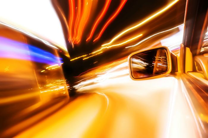 Need For Speed Long Exposure Night Photography Street At Night Side View Traffic Lights Motion Blur Speedway Speed Light Photography Illuminated Glowing Fast Motion Fast Moving Rush