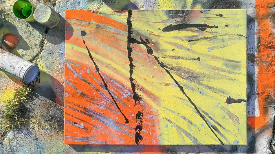 A Art ArtWork Abstract Paint Artist ArtLife Artlovers Graffiti Art Cans Saturday Eye4photography  Eyemphotography Eyemart