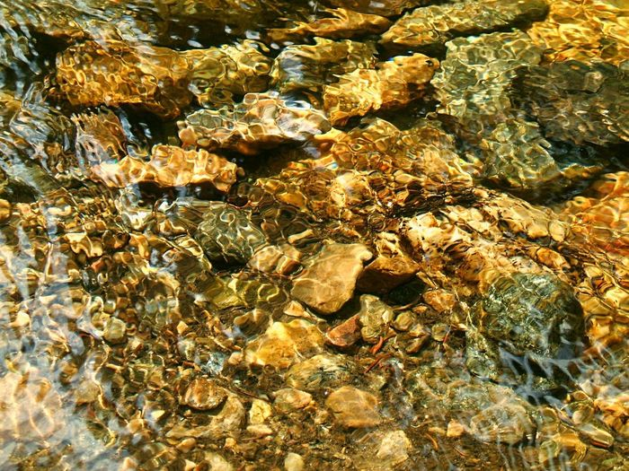 EyeEmNewHere Hiking Background Backgrounds Clear Water Close-up Full Frame Nature Outdoors River River Background River Walking River Water Rock Rocks Under Water Running Water Serene Outdoors Texture Transparent Water Water Background Water Ripples Wet Rocks