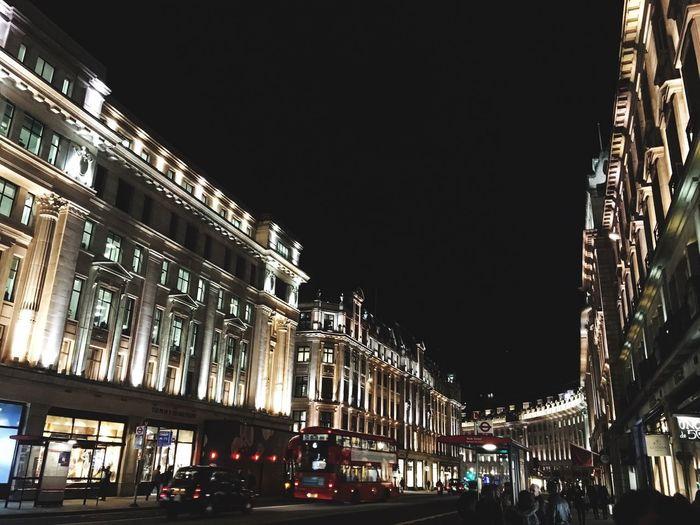 Cities At Night London Regentstreet