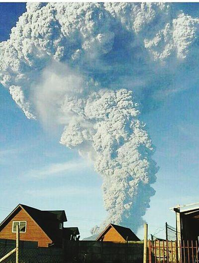 Volcán Calbuco,región De Los Lagos,Chile