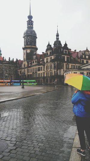 Arhitecture Hello World Rainy Day Colorfull Life