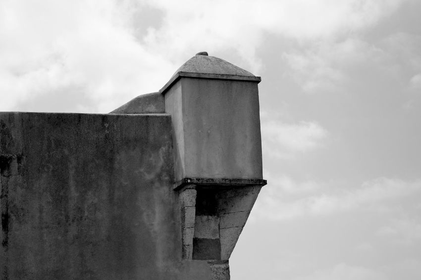 Fortress Black & White Black And White Blackandwhite Fortress Wall Close-up Blackandwhite Photography Bnw EyeEm Eye4photography  EyeEm Best Shots EyeEmBestPics Minimal Minimalism Minimalobsession From My Point Of View Light And Shadow Sky And Clouds EyeEm Gallery Taking Photos Portugal