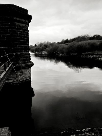 Reservoir reflections Dam Landscape English Countryside Water Calm Water Atmosphere Reservoir Yorkshire South Yorkshire Reflections In The Water Beautiful Fishing Natural Stone Water Tower