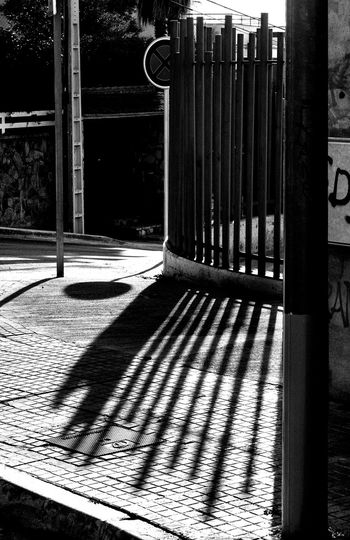 Shadow of built structure