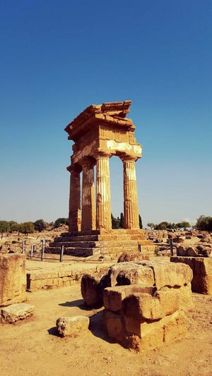 Valley Of The Temples Sicily, Italy Sight Seeing Agrigento Ancient Architecture Temple First Eyeem Photo