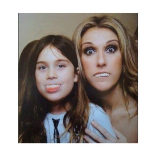 "She's ""crazy"" and that's why i adore her! Son Celinedion Renecharles Crazy epic"