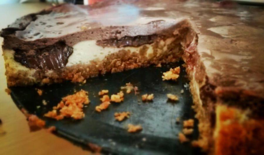 Tante Uschi's Double Chocolate Cheesecake
