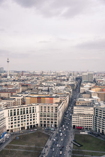 berlin Berlin From Above  Winter Architecture Built Structure City Potsdamer Platz Mobility In Mega Cities Colour Your Horizn