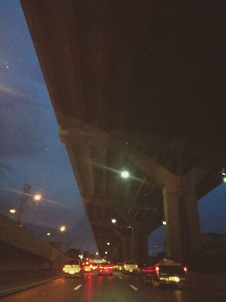 Ontheroad Onthewayhome Street Light Transportation Night Outdoors