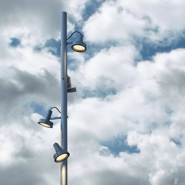 A multi-lamp street post against a cloudy sky Cagliari, Sardinia Cloud Cloudy Light Street Light Street Lamp Bulb Casteddu Cloud - Sky Day Illuminated Italy Lighting Equipment Low Angle View No People Outdoors Sardinia Sky Street Light Street Post