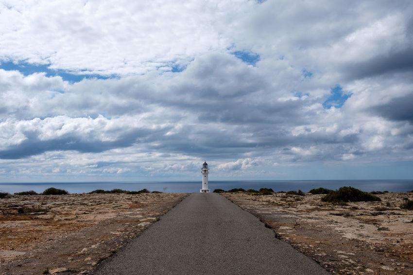 Formentera Formentera Island Ibiza Lighthouse Beauty In Nature Clouds And Sky Scenics Sky