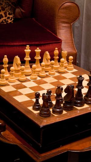 Gaming Challenge Chess Chess Board Chess Piece Competition Day Decisions Indoors  Intelligence King - Chess Piece Knight - Chess Piece Leisure Games No People Pawn - Chess Piece Queen - Chess Piece Strategy Wood - Material