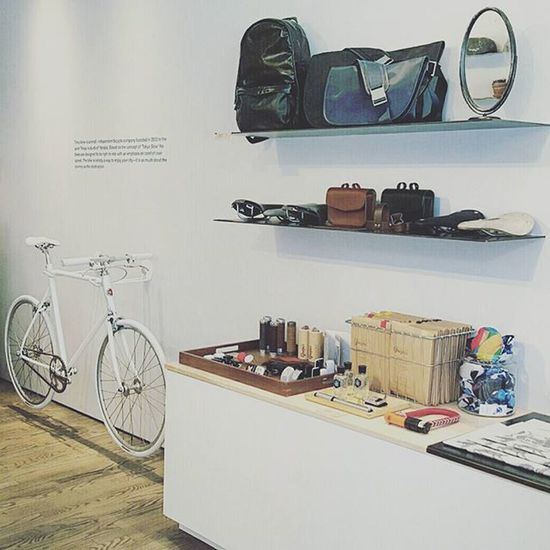 From our visit to @tokyobike_nyc ☆ Check out the VSCO Journal post I did for @Haerfest and share the love ♡♡♡ Tokyobikenyc Bowery NYC Bicycle Bags Fashion Comfort Chic Photooftheday Instadaily Best  Bikers http://haerfest.vsco.co/journal/where-the-journey-begins