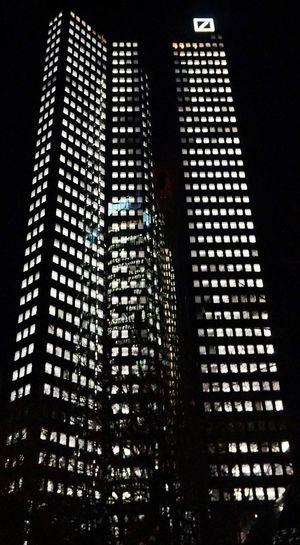 Building Nachtleben In Frankfurt