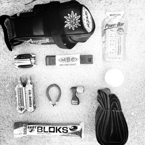 Blackandwhite Bicycle What's In My Bag  EyeEm Challenge
