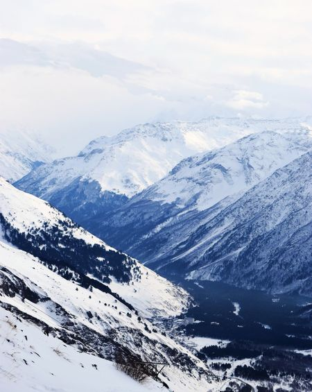 Caucasus Elbrus EyeEm Nature Lover Russia Travel Traveling Beauty In Nature Blue Cold Temperature Day Eye4photography  Landscape Mountain Nature No People Outdoors Scenics Sky Snow Snowcapped Mountain Tranquil Scene Tranquility White Winter Россия