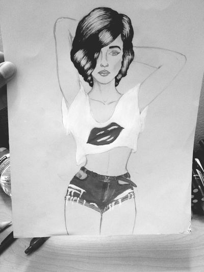 Pose for me ??❤️❤️ finally finished my Art Piece
