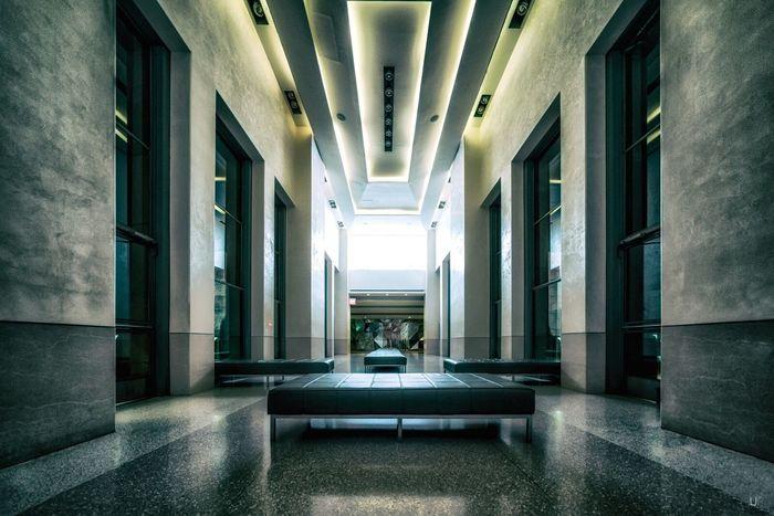 WAITING ROOM by UmbertoFederico Photography - www.umbertofederico.de Indoors  Ufp Rockefeller Center Hallway Interior Design Photography