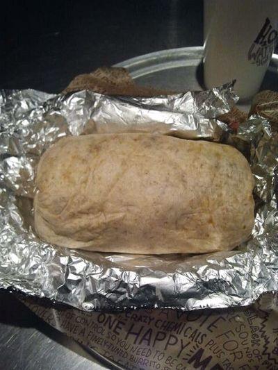 My Burrito From Chipotle #yumm ツ