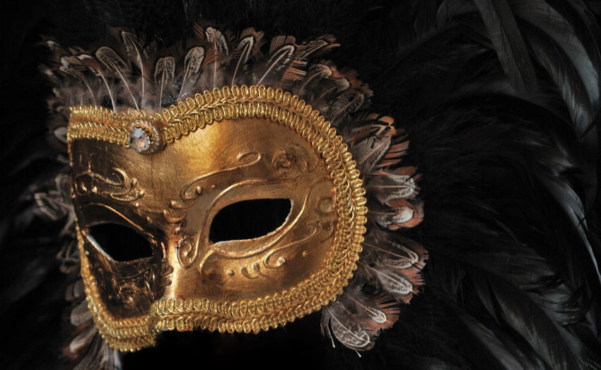 Art Carnival Close-up Mask Tradition Venice, Italy