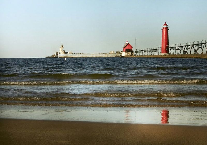 Landscape Ships Greatlakes Lighthouse Showcase: November