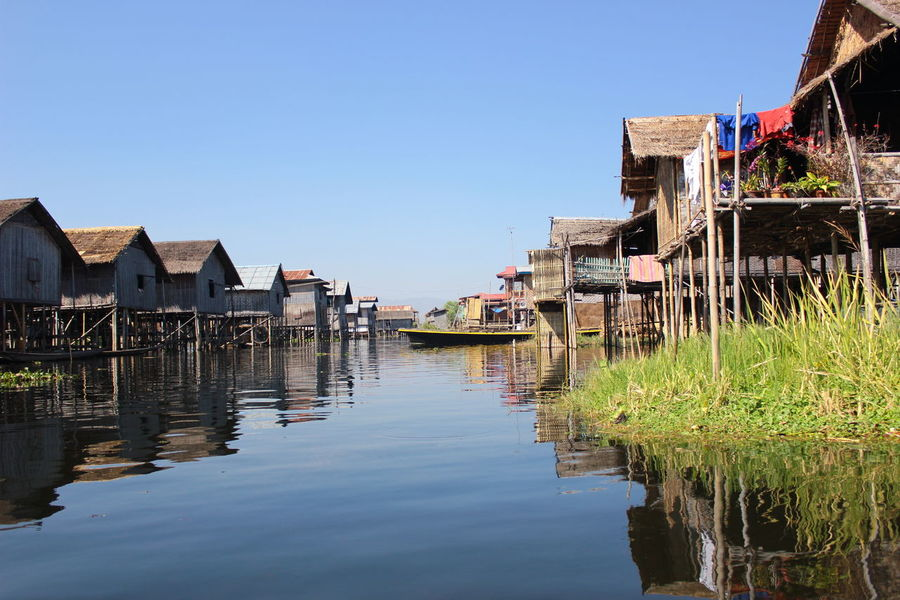 Built Structure Burma House Inle Lake Lake Living On The Wa Myanmar Residential District Tranquility Wanderlust Water