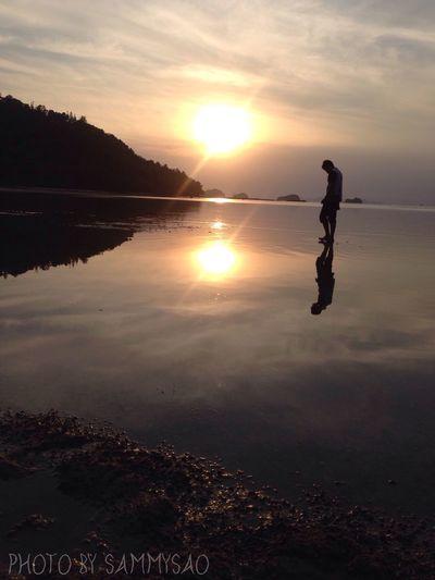 Life Kohsamui Sunset Evening IPhoneography IPhone5 First Eyeem Photo