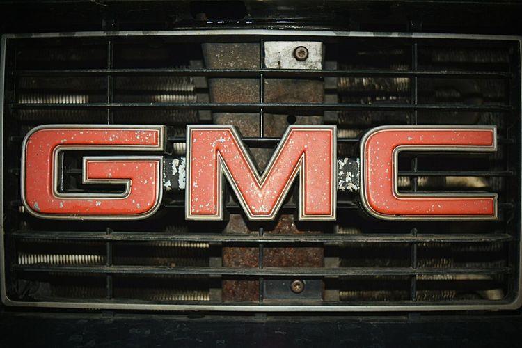 Close-up Illuminated Car Car Exterior GMC