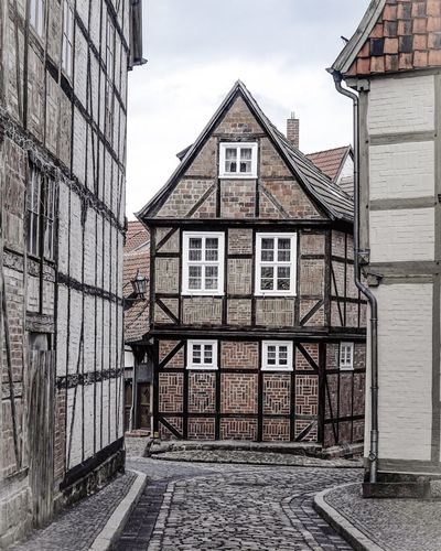Architecture Architecture Building Exterior Built Structure Window Outdoors Sky No People Day Residential Building House City Cloud - Sky UNESCO World Heritage Site Unesco Unesco World Heritage Quedlinburg Saxonyanhalt