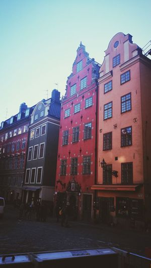 Architecture Building Exterior Outdoors Built Structure Architecture Stockholm Sweden Gamla Stan