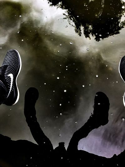 Water shoes First Eyeem Photo Nike Shoes #fashion #design No People Outdoors Tranquil Scene