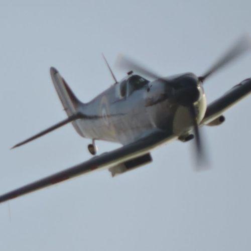 Last display for the boss!! :) Spitfire Hurricane Aeroplane Ww2 Ww2warbirds Flying Fighterplane Raf