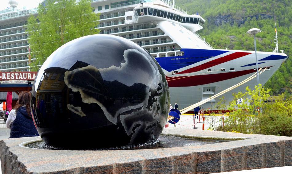 Britannia Cruise Cruise Ship Cruiseship Cruising Fiorde Fiordo At Norway Fiords Norway Outdoors P&O Britannia P&O Cruises Port