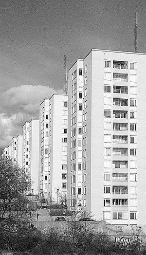 Architecture Blackandwhite Bw_collection Miljonprogramsarkitektur