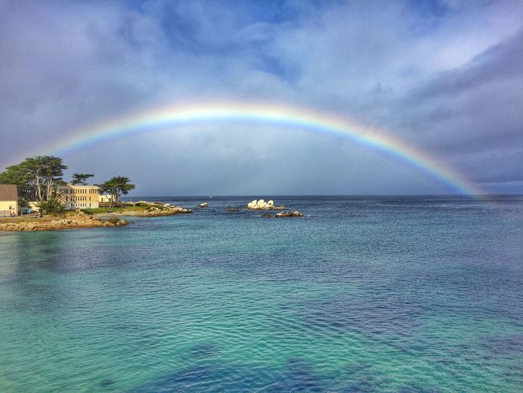 Rainbow Mobilephotography IPhoneography Clouds And Sky Ocean View Monterey Bay EyeEm Nature Lover Wearegrryo Hdr_Collection