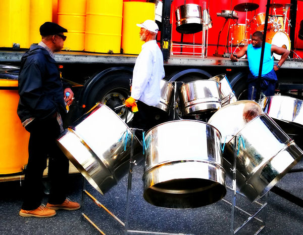Carribbean Music Nottinghill Carnival Open Air P9 P9photography Panorama Steel Steelband London Lifestyle
